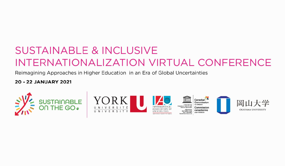 Sustainable and Inclusive Internationalization Virtual Conference