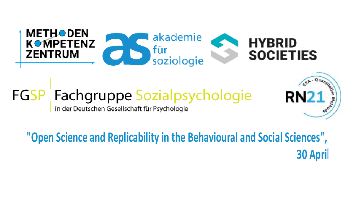 The Faculty of Behavioural and Social Sciences at the Chemnitz University of Technology invites to join an interdisciplinary online conference