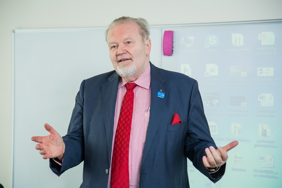 Professor Emeritus of Saint-Petersburg University of Management Technologies and Economics, our German partner and colleague Wilfried Bergmann is celebrating his birthday on 1 June