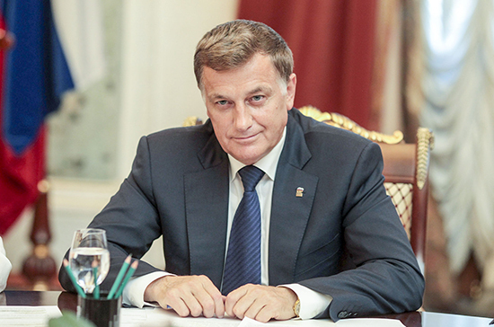 Vyacheslav Makarov, Chairman of the Legislative Assembly of the Northern capital, congratulated the first-year students of UMTE